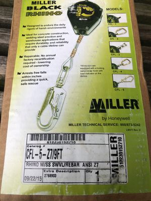 Miller Black Rhino fall protection New for Sale in Reynoldsburg, OH