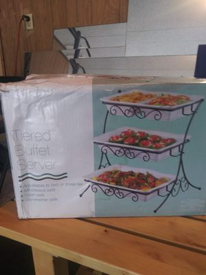 2 Tiered Buffet Servers for Sale in Austin, TX