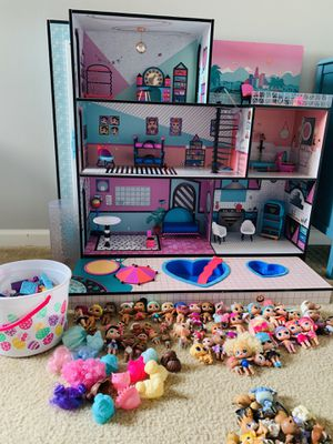 LOL Dollhouse, 50+ Dolls, Tons of accessories for Sale in Port St. Lucie, FL