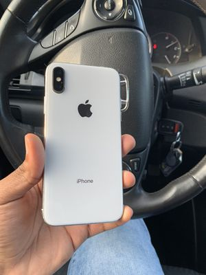 IPHONE X 64GB SPRINT/BOOST MOBILE PRICE IS FIRM for Sale in Washington, DC