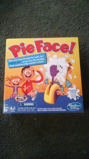 Pie Face. Brand New never opened for Sale in Milford, MA
