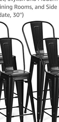 Bars stool, high chair with back, brand new barstools for Sale in Mesa,  AZ