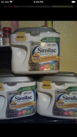 5x Similac pro advance for Sale in Kent, WA