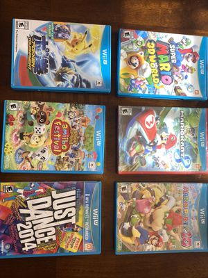 Wii U games for Sale in Chino Hills, CA