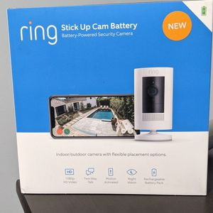 NEW! Ring Stick Up Cam Battery for Sale in Pawtucket, RI