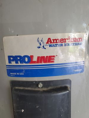 Proline Electric Water Heater 50 gallon for Sale in BVL, FL