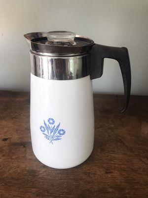 Vintage Corning stove top coffee Percolator for Sale in Portsmouth, VA