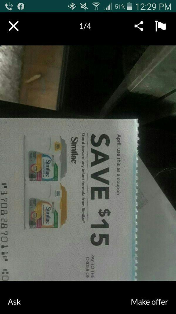 Similac coupon