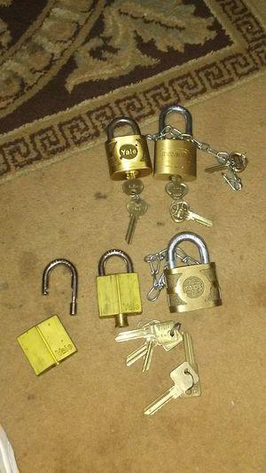 Yale Russwin vintage locks lot for Sale