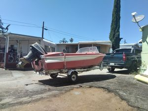 Complete boat 1963i think good condition last reg 09 for Sale in Banning, CA
