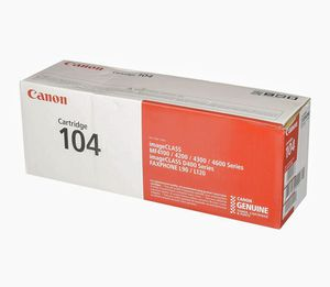 Canon Genuine Toner, Cartridge 104 Black (0263B001), 1 Pack, for Canon imageCLASS D420, D480, MF4150d, MF4270dn, MF4350d, MF4370d for Sale in Las Vegas, NV