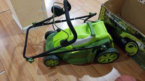 Electric lawn mower & leaf blower sold together for Sale in East Orange, NJ