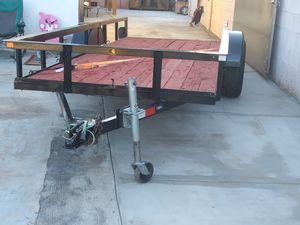 Trailer hauler utility 14x5 cleaz az title for Sale in Glendale, AZ