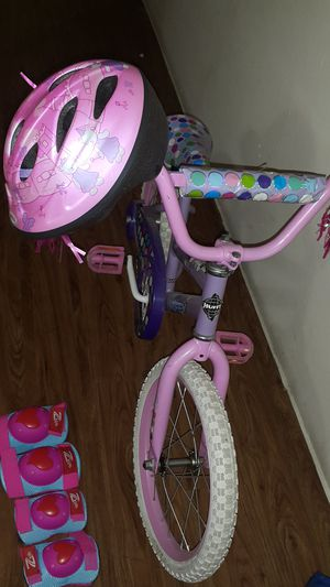 Bicycle free Helmet and knee, elbow protection. for Sale in Bellaire, TX
