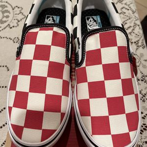Vans Red and Black Checkered Comfycush for Sale in Chino Hills, CA