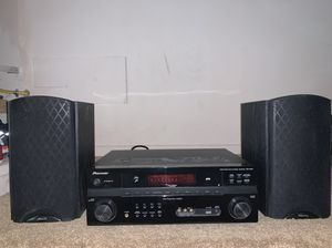 Pioneer receiver + 2 speakers for Sale in Issaquah, WA