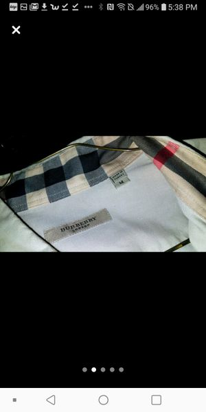 Men's Burberry Button Up Shirt for Sale in St. Louis, MO