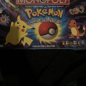 Pokémon monopoly for Sale in Staten Island, NY