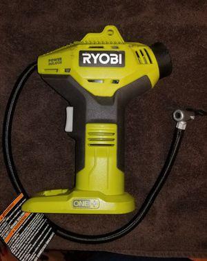 Ryobi 18 Volt inflator for Sale in Wilmington, NC