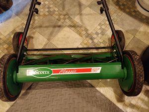 "Scotts 20"" Reel Push Lawn Mower for Sale in Leesburg, VA"