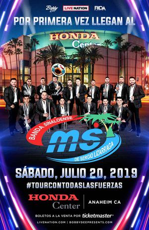 Banda MS July 20 Anaheim 4 tickets available aisle seats for Sale in Chino, CA