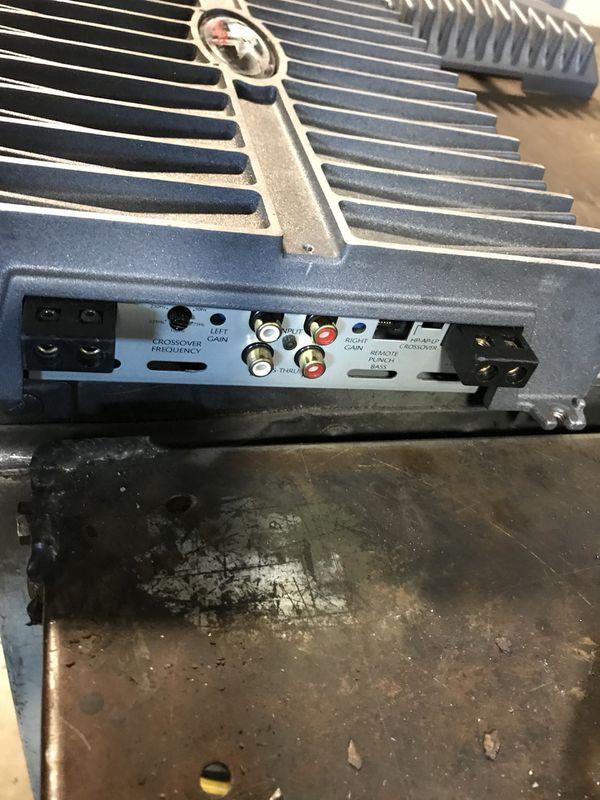 Rockford fosgate amp amplifier power 750s 2 channel