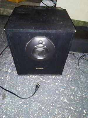 Powered sub with. Sepatate center speaker for Sale in Lexington, KY
