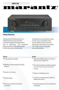 Marantz SR4120 stereo receiver for Sale in Ridgefield,  WA