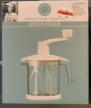 Martha Stewart Quick Mixer for Sale in Potomac, MD