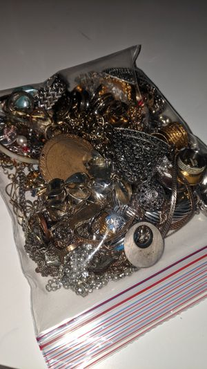 Bag of jewelry for Sale in Gilbert, AZ