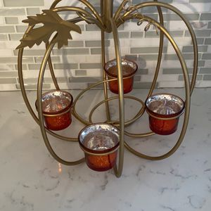 Pumpkin Tea Light Holder for Sale in Allen Park, MI