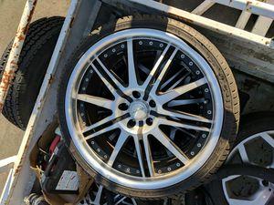 Katana wheels 225/35zr20 90w xl for Sale in Sacramento, CA