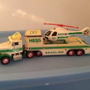 Hess Tractor Trailer And Helicopter for Sale in St. Petersburg, FL