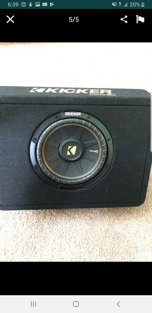 New kicker sub and amp for Sale in Stockton, CA