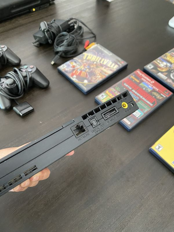 PS2 (slim) with Game Bundle