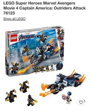 Legos Avengers Captain America for Sale in Lemon Grove, CA