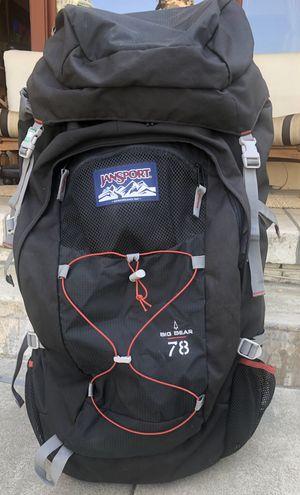 Jansport Big Bear 78 Grey/Black Backpack for Sale in Redlands, CA
