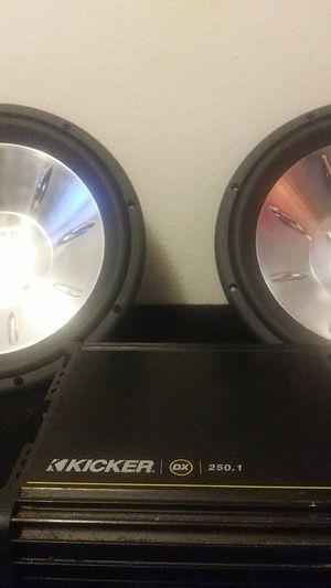 Speker mtx audio kicker dx 250.1 for Sale in Tacoma, WA