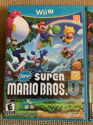 Wii U Nintendo games for Sale in Shoreline, WA