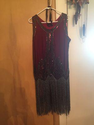 Roaring twenty's flapper dress for Sale in CARPENTERSVLE, IL