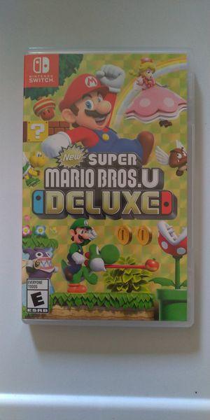Super Mario U Deluxe Game - Nintendo Switch - Works Great for Sale in Chula Vista, CA