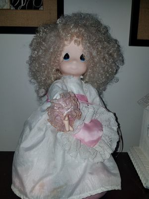 precious moments doll with doll stand for Sale in Mount Juliet, TN