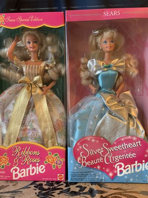 1995 Sears Special Edition Barbie Set of 2 for Sale in Tamarac, FL
