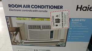 Haier 8000 BTU window air conditioner for Sale in Tampa, FL