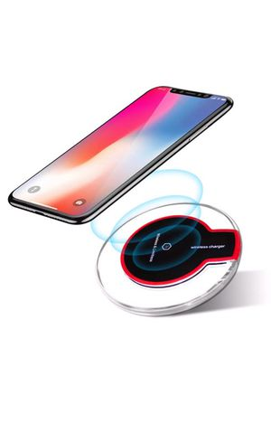 Wireless Charging Pad for iPhone 8 8 plus IPhone X Samsung Galaxy S6 Edge S7 S8 Note 8 for Sale in Twinsburg, OH