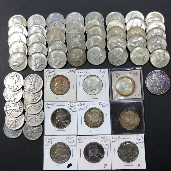Junk silver and Kennedy/Franklin Proofs