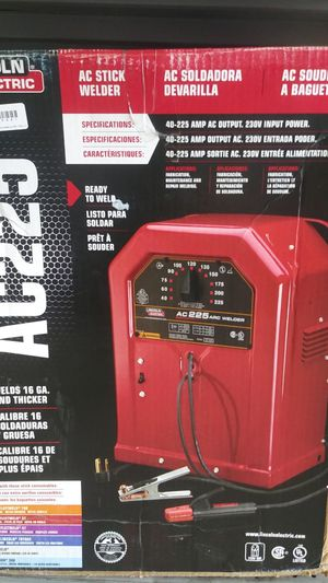 AC stick welder / AC soldadora de varilla for Sale in Orlando, FL