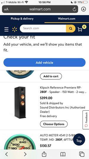 Klipsch 7.2 speakers including 2 speaker stand. for Sale in Washington, DC