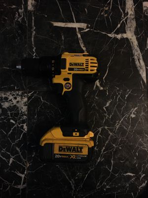 Dewalt 20v max drill for Sale in Cypress, TX