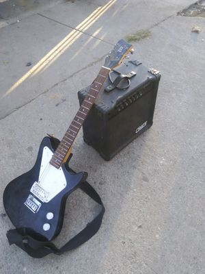 Electric guitar with speaker for Sale in Los Angeles, CA
